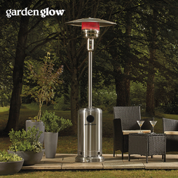 Garden Glow Stainless Steel Gas Patio Heater