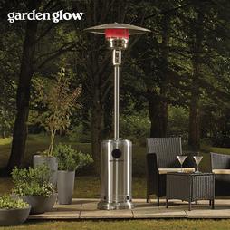 Garden Glow Stainless Steel Gas Patio Heater