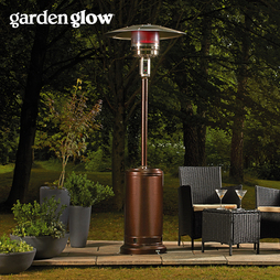 Garden Glow 13kW Gas Patio Heater Bronze