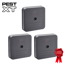 Pest XT Battery Operated Indoor Repeller Triple Pack