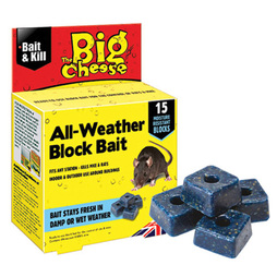 The Big Cheese All Weather Rodent Bait 15 Blocks