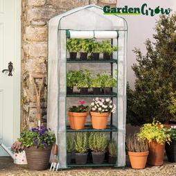 Garden Grow Premium Portable 4 Tier Greenhouse