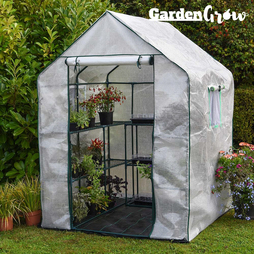 Garden Grow Premium Portable 12 Shelf Greenhouse