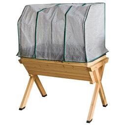 Grow Trug® by BVG Group Ltd Greenhouse Frame & Cover for Medium Planter