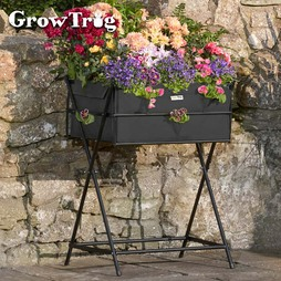 Black Grow Trug® by BVG Group Ltd Tuscan Planter including £20 of veg seed