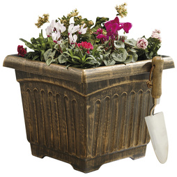 Garden Grow Two Fluted Box Planters