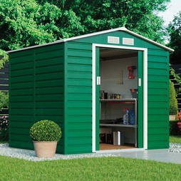 Waltons Heavy Duty Reinforced Premium Apex 7 x 6.3ft Metal Shed