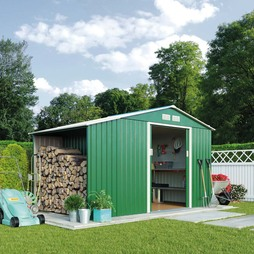 Waltons 11.2 x 6.3ft Storage and Log Shed