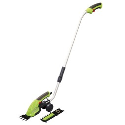 Garden Gear 3.6V Cordless Lithium-ion Trimming Shears with extension handle