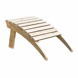 Adirondack Wooden Footrest