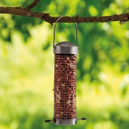 Supa Small Domed Stainless Steel Nut Feeders