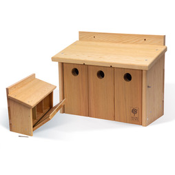 The Official Cedar Nesting Box Sparrow House