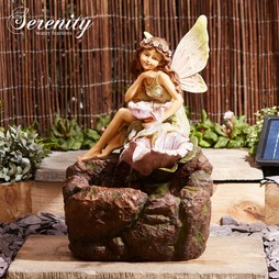 Serenity Solar Tatianna Fairy Cascade Water Feature