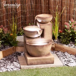 Serenity Threetier Laguna Cascade Water Feature