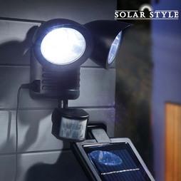 Solar Style Twin PIR Solar Light
