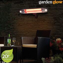 1500W Halogen Heater LED Remote