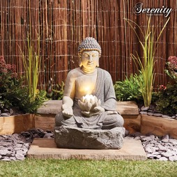 Serenity Lotus Buddha Water Feature