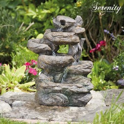 Rock Cascade Indoor and Outdoor Water Feature