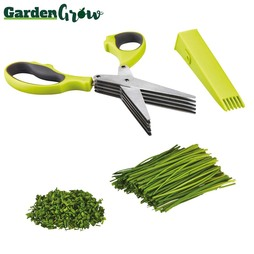 Garden Grow Five-Blade Herb Scissors