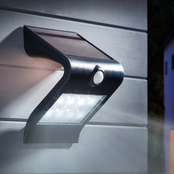 Zennox LED V Shape Solar PIR Light