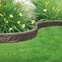 Ecofriendly Flexi Curve Border 4 Pack Earth