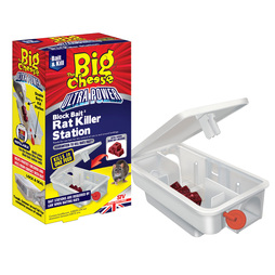 The Big Cheese Block Bait Rat Killer Station