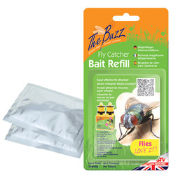 The Buzz Fly Catcher Bait Refill Pack of Three