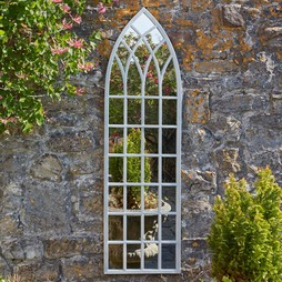 Tall Arched Gothic Mirror