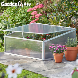 Garden Grow Aluminium Cold Frame with £20 Worth of Vegetable Seeds