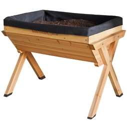 Garden Grow Large Wooden Raised Planter Spare Liner