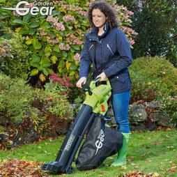Garden Gear Electric Vacuum Blower with Rake