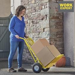 Work Expert HeavyDuty Sack Trolley