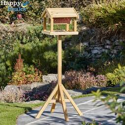 Nature?s Market Premium Bird Table with Builtin Feeder