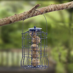 Nature?s Market Wild Bird Suet Ball Feeder with Squirrel Guard