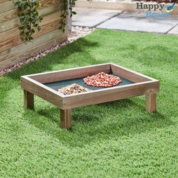 Wooden Ground Feeder Tray