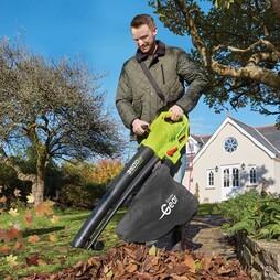 Garden Gear 3500W 3in1 Blower, Vacuum and Shredder