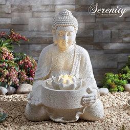 Serenity Serene Buddha Water Feature