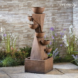Serenity 6Tier Bowl Tower Water Feature