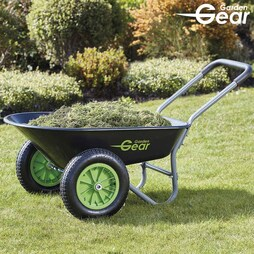 Garden Gear Two Wheeled Wheelbarrow