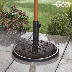 Garden Gear 14kg Parasol Base Black