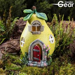 Garden Gear Solar LED Fruit House - Pear