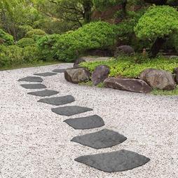 Reversible EcoFriendly Grey Natural B Stepping Stones Single Unit