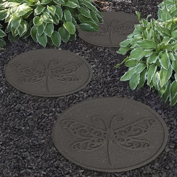 Reversible EcoFriendly Dragonfly Stepping Stone Single Unit