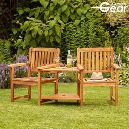 Garden Gear Acacia Love Seat