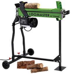 Logmaster 6 Tonne Electric Log Splitter with Stand