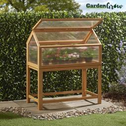 Garden Grow Raised Wooden Cold Frame