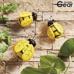 Garden Gear Set of 3 Metal Bees