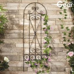 Garden Gear 1.2M Metal Plant Support Swirl