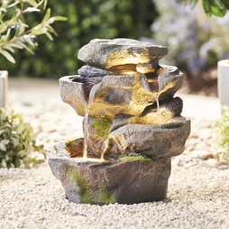 Serenity Mountain Rock Water Feature
