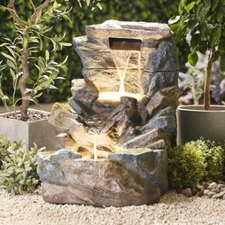 Serenity Large Tumbling Rock Wall Water Feature